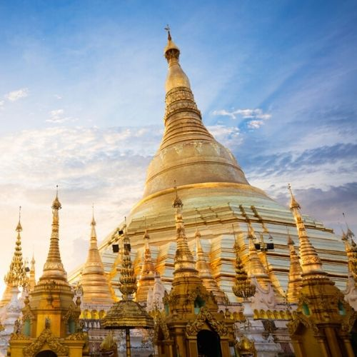 Buddhism Stupa