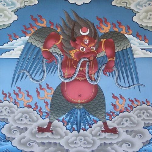 Buddhism Garuda